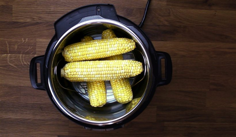 Instant Pot Corn on the Cob Recipe (Pressure Cooker Corn on the Cob): Learn how to cook corn on the cob. Quick & easy sweet & juicy summer treat for whole family!